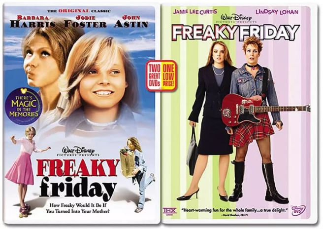 """Freaky Friday,"" one of many films about personal identity."