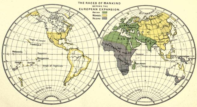 1900 map, which shows only three race