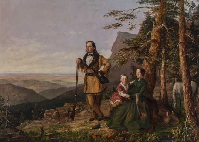 William S. Jewett (1821–1873) The Promised Land - The Grayson Family, 1850