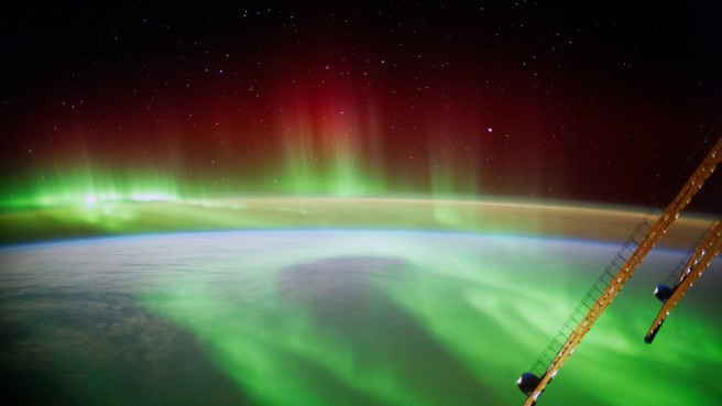 Photo from Astronaut Alexander Gerst Aboard The International Space Station