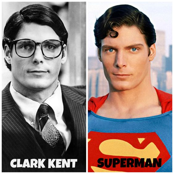Clark Kent and Superman