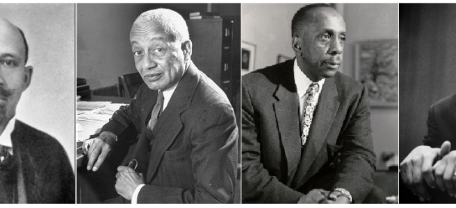 W.E.B. DuBois, Alain Locke, Howard Thurman, and Martin Luther King, Jr.