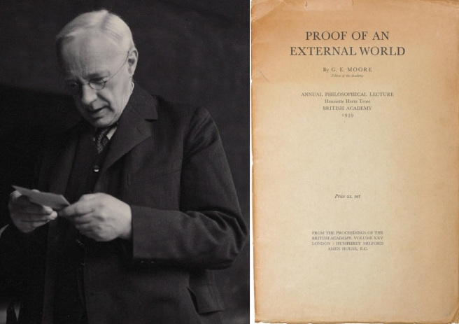 "G.E. Moore's ""Proof of an External World."""